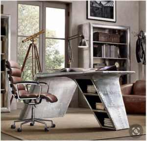 Office- Unique Desk - Architectural Design Studios